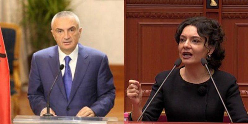 Presidenti Meta i përgjigjet ashpër Spiropalit: Zonja palaço!