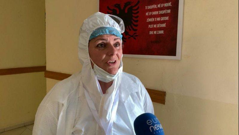COVID-19/ infektohet shefja e epidemiologjisë në Shkodër, Dhurata