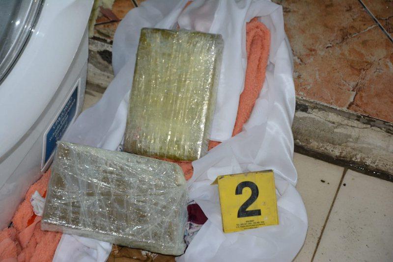 Policia operacion blic në një servis në Lezhë, gjen 1.2 kg