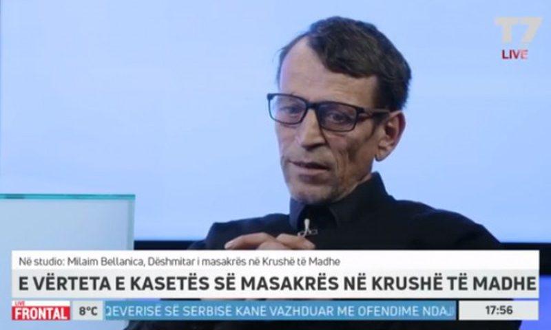 Trondit dëshmitari  i masakrës së Krushës: Çdo