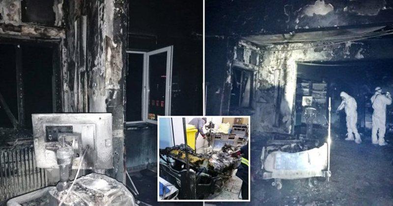 Zjarr në spitalin Covid, humbin jetën 10 pacientë
