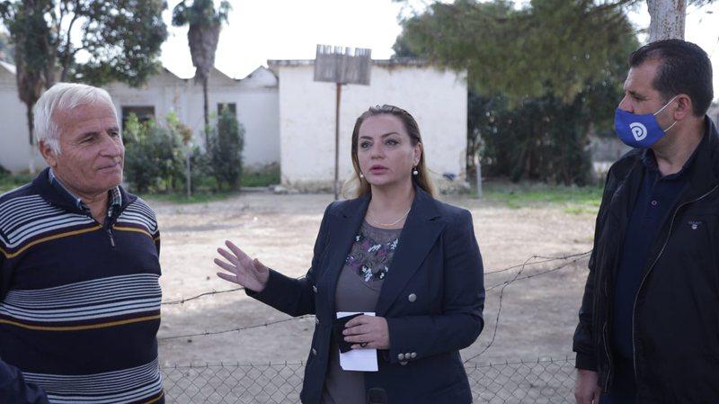 Albana Vokshi në Kryevidh të Rrogozhinës: Shkolla e rrënuar,