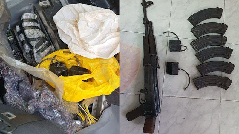 Automatik, tritol dhe municion luftarak, arrestohet 33-vjeçari durrsak,