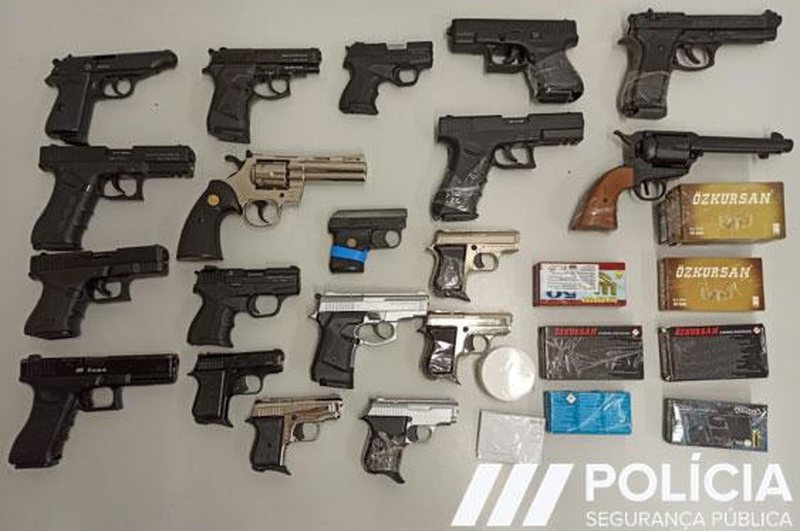 Operacioni në 24 shtete, sekuestrohen 1776 armë ilegale nga Turqia,