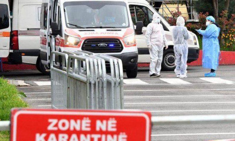 COVID shënon rekord në Shqipëri, 597 infektime të reja, 11
