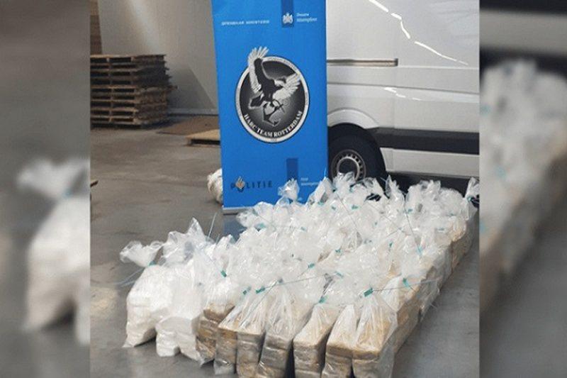 Policia holandeze sekuestron kokainë me vlerë 18-24 milionë euro