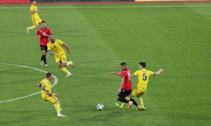Përballja miqësore, Shqipëria dyfishon përballë