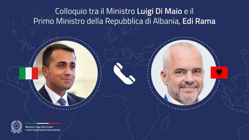 Rama bisedë telefonike me ministrin Italian, dalin detajet.