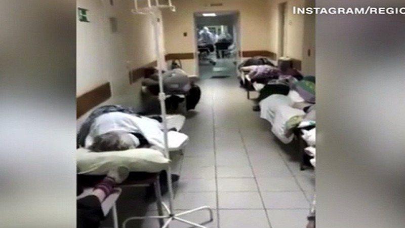Pamje tmerri në Rusi nga Covidi, mbushen morgjet me kufoma
