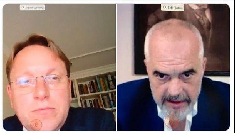 Varhelyi takim virtual me Ramën: Presim që Shqipëria të