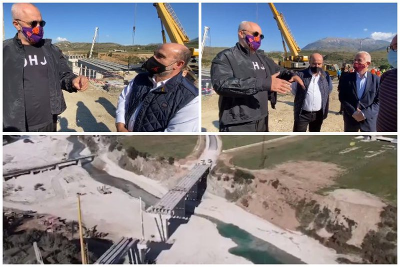 Rama inspekton rrugën e Lumit të Vlorës: Në Labëri