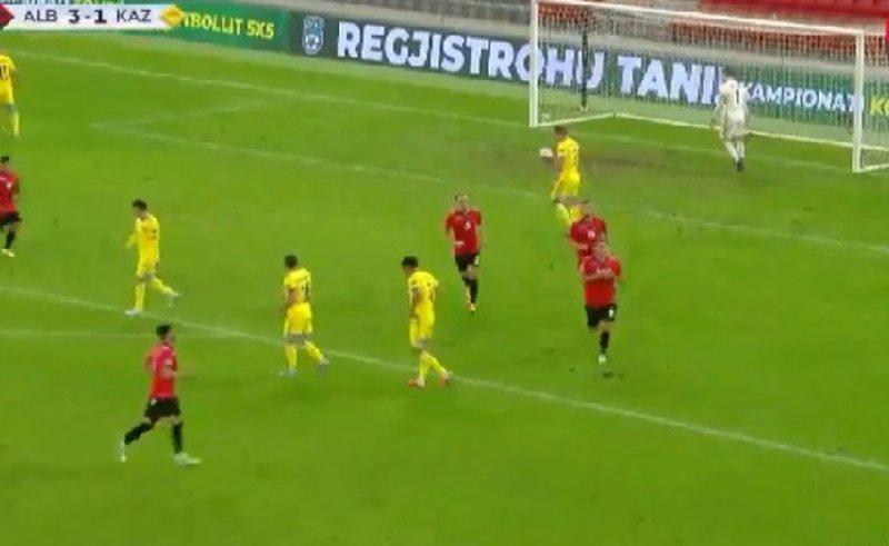 Shqipëria mund Kazakistanin me rezultat 3-1
