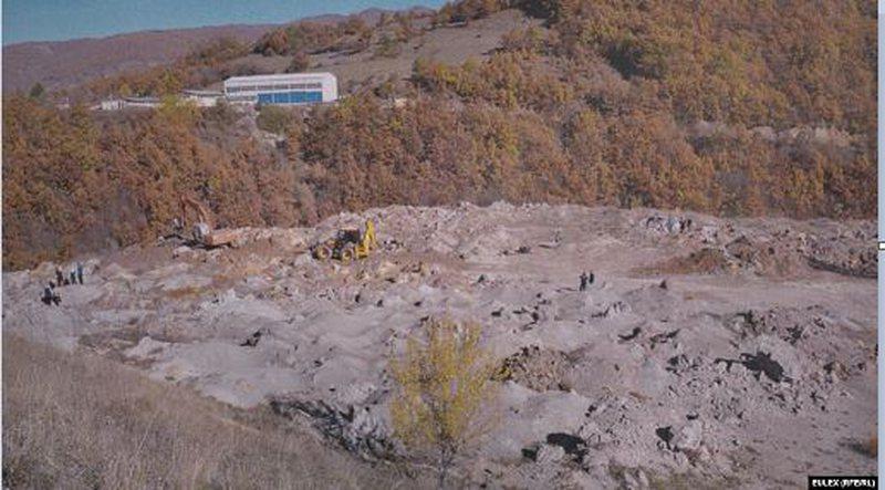 EULEX: Zbulimi i varrit masiv në Kizhevak, falë imazheve fotografike