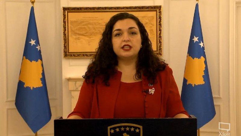 Infektohet me COVID-19 presidentja e Kosovës, Vjosa Osmani