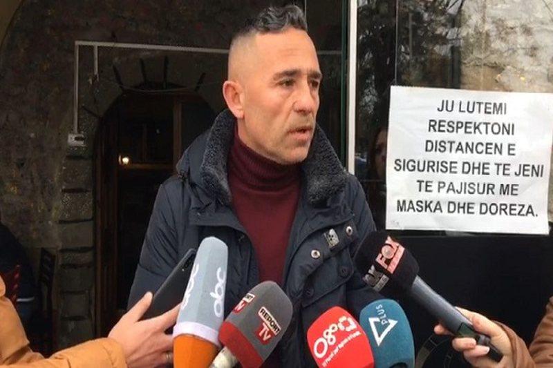 Iu dëmtua lokali gjatë sherrit mes tifozëve të Partizanit e
