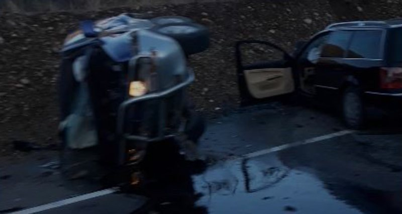 Aksident në rrugën e Kombit, plagosen dy persona