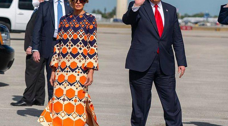 Melania 'braktis' sërish Trump, momenti i sikletshëm po