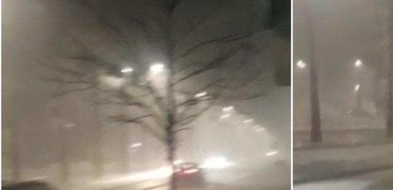 Stuhi e fortë në Vlorë, përkeqësohet moti në