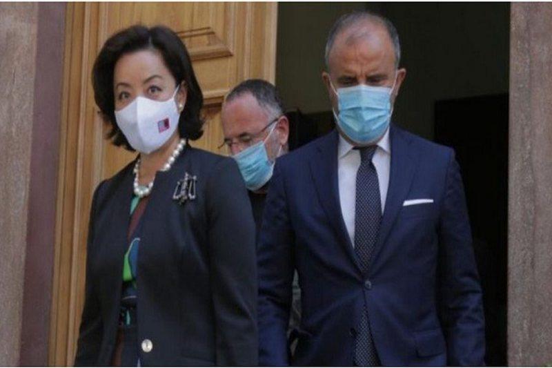 Yuri Kim dhe Soreca takim me anëtarët e Gjykatës Kushtetuese