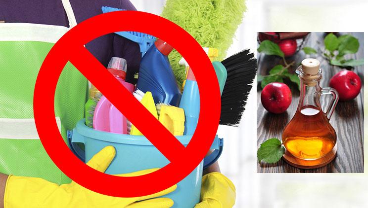 3 truke të thjeshta për të pastruar shtëpinë me uthull molle - Pastrimi