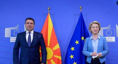 Zaev flet pas takimit me Von der Leyen: Shkupi dhe Tirana të mos ndahen