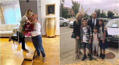 Puthjen e parë e dha… Anita Haradinaj rrëfen të