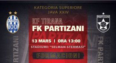 Kryeqyteti mbetet i kuq, Partizani triumfon sërish përballë