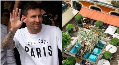 FOTO/ Hoteli super-luksoz ku do të qëndrojë Messi në Paris,