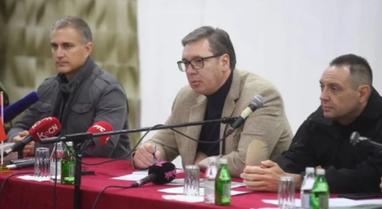 """""""Unë nuk jam si të tjerët""""/ Vuçiç takim"""