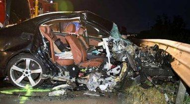 Aksident i trefishtë në Thumanë, 'BMW' me