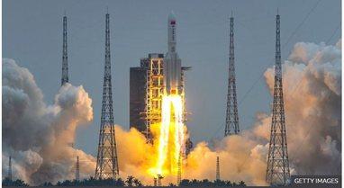 Raketa kineze doli jashtë kontrollit në hapësirë/ Merr fund