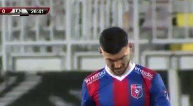 Bie Vllaznia, Laçi triumfon në Shkodër me 10 lojtarë dhe