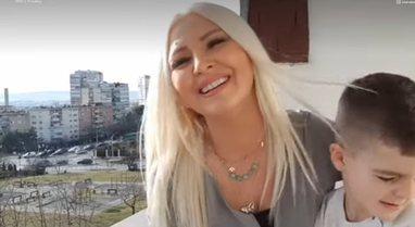 Brenda shtëpisë së Mihrije Braha, këngëtarja kosovare