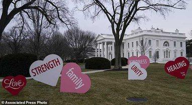 Shën Valentini i parë në Shtëpinë e Bardhë,