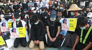 """Myanmar: Policia pushkaton protestuesit """"2 të vdekur"""""""