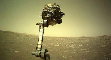FOTO/ NASA shpërndan pamje të reja nga misioni në Mars
