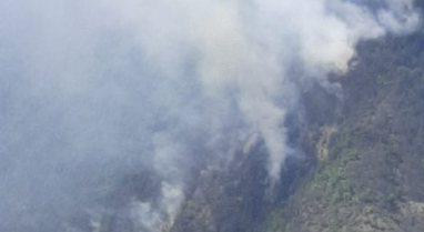 Foto/ Vijon prej ditës së djeshme zjarri në malet e