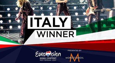 Triumfon Italia, fiton Eurovisionin