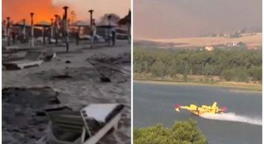 VIDEO/ Mbi 15 vatra zjarresh në Sicili, evakuohen banorët, Palermoja