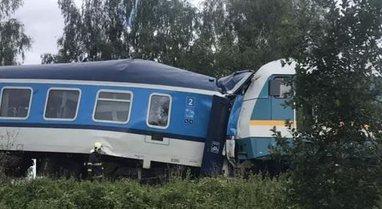 Treni i shpejtë nga Mynihu përplaset me trenin çek, 2 të
