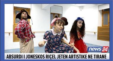 Absurdi i Joneskos riçel jetën artistike në Tiranë,