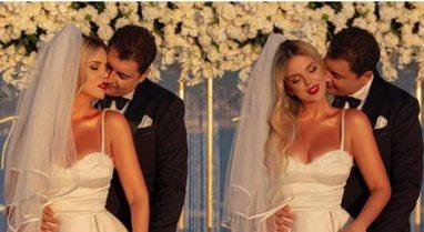 Me fustanin e bardhë, Rezarta Shkurta nxjerr fotot nga dasma, dedikim plot