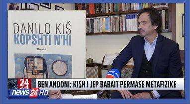 """""""Kopshti n'hi""""/ Ben Andoni: Autobiografia e Danilo Kish,"""
