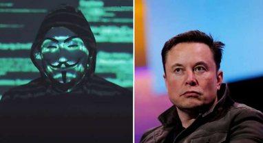 """""""Anonymous"""" paralajmëron Elon Muskun, shkaku i postimeve"""
