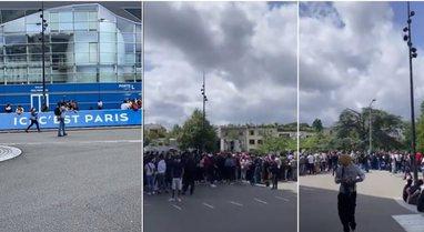 VIDEO/ Messi shkakton kaos në aeroportin e Parisit, e pazakontë