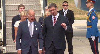 ''Presidenti i SHBA Joe Biden i kërkon Vuçiç