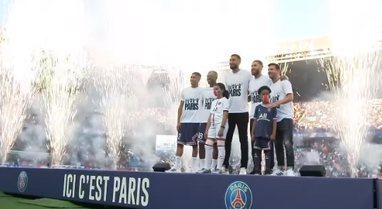 """Messi i 'mahnitur' nga pritja në """"Parc des"""