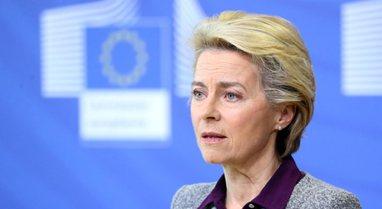 Pas Tiranës, Presidentja e Komisionit Europian, Ursula von der Leyen