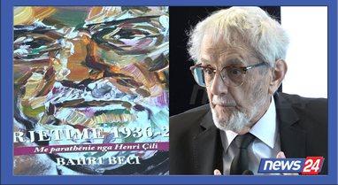 """Bahri Beci në 85-vjetor boton """"Përjetimet"""": Njeriu"""