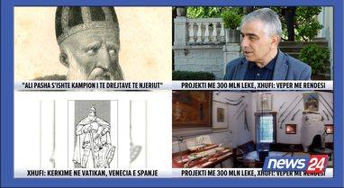 Projekti 300 mln lekë i historisë, Pëllumb Xhufi: Nuk mohova